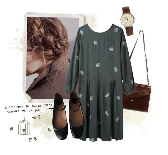 """""""Cut out all the ropes and let me fall"""" by sophelie21 ❤ liked on Polyvore featuring ferm LIVING, Simon Carter, Band of Outsiders, Rochas, skinnylove and BonIver"""