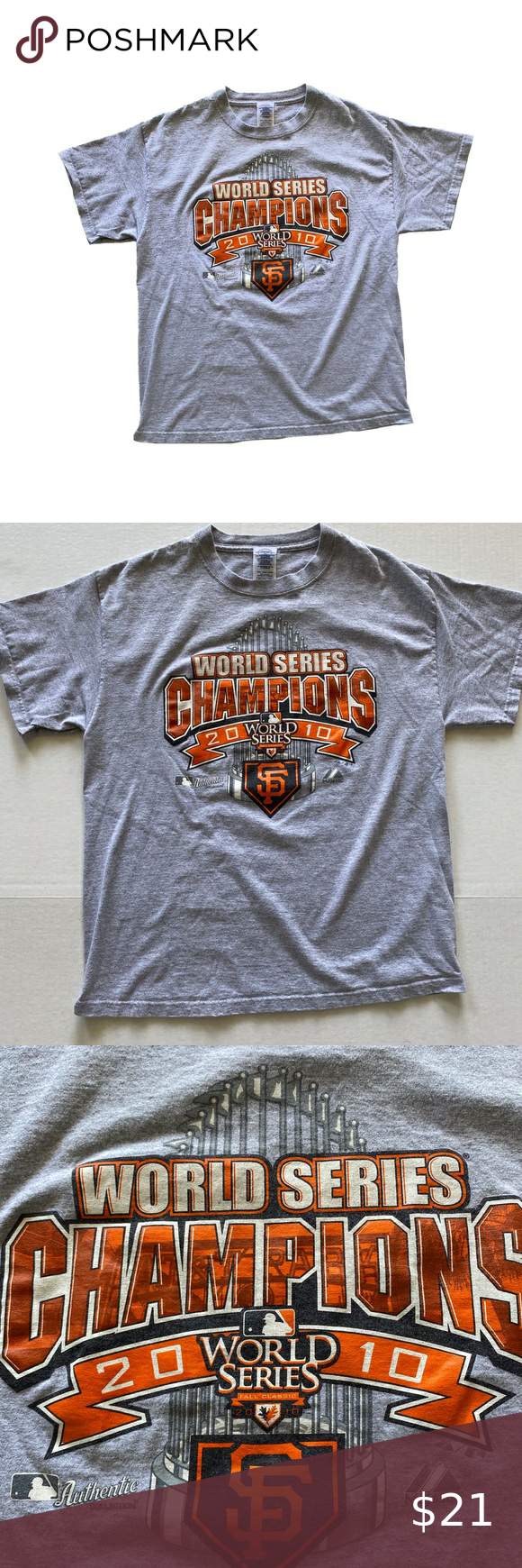 San Francisco Giants 2010 World Series T Shirt In 2020 2010 World Series San Francisco Giants World Series