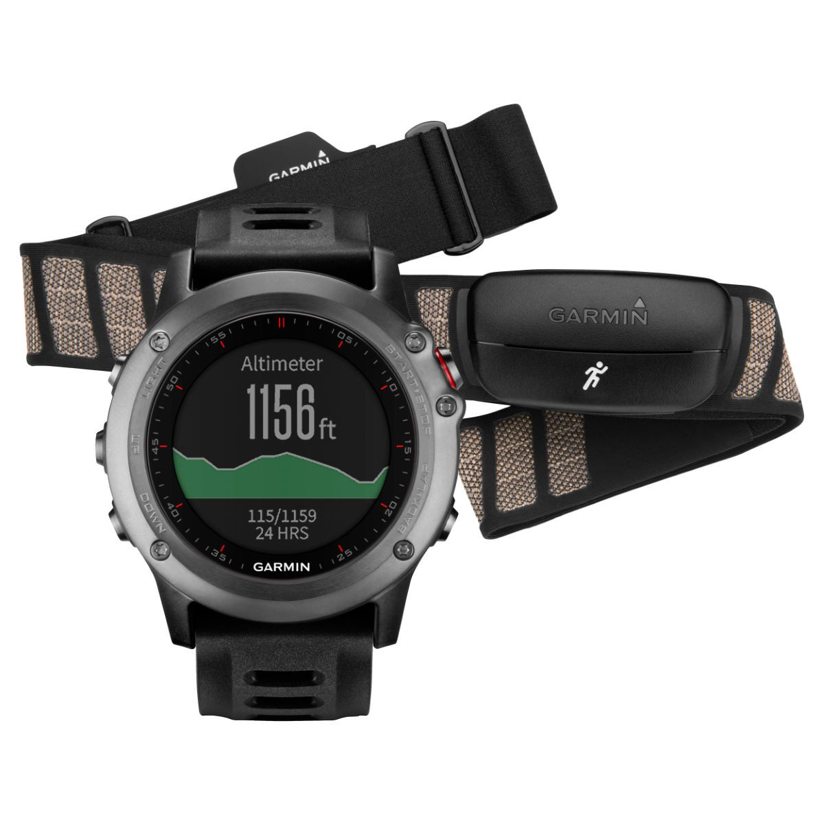 Garmin Fenix 3 GPS Watch Performance Bundle Outdoor GPS