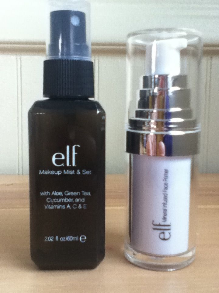ELF Makeup Setting Mist - $3. ELF Mineral Face Primer - $6. Both better than Sephora and MAC. Try them!!