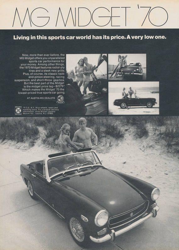 1977 MG MIDGET | Mg midget, Car ads, Mg cars