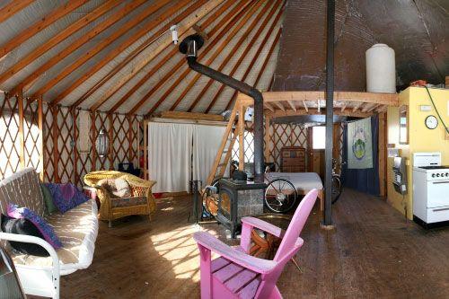 yurt interior | yurt living | pinterest | interiors, yurt interior