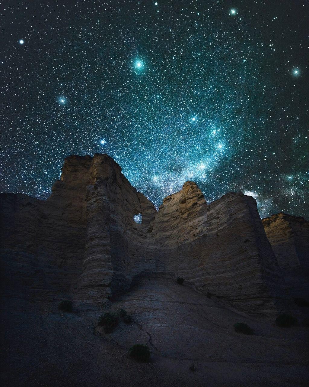 Jaxson Pohlman Monument Rocks Kansas Night Skies Images In