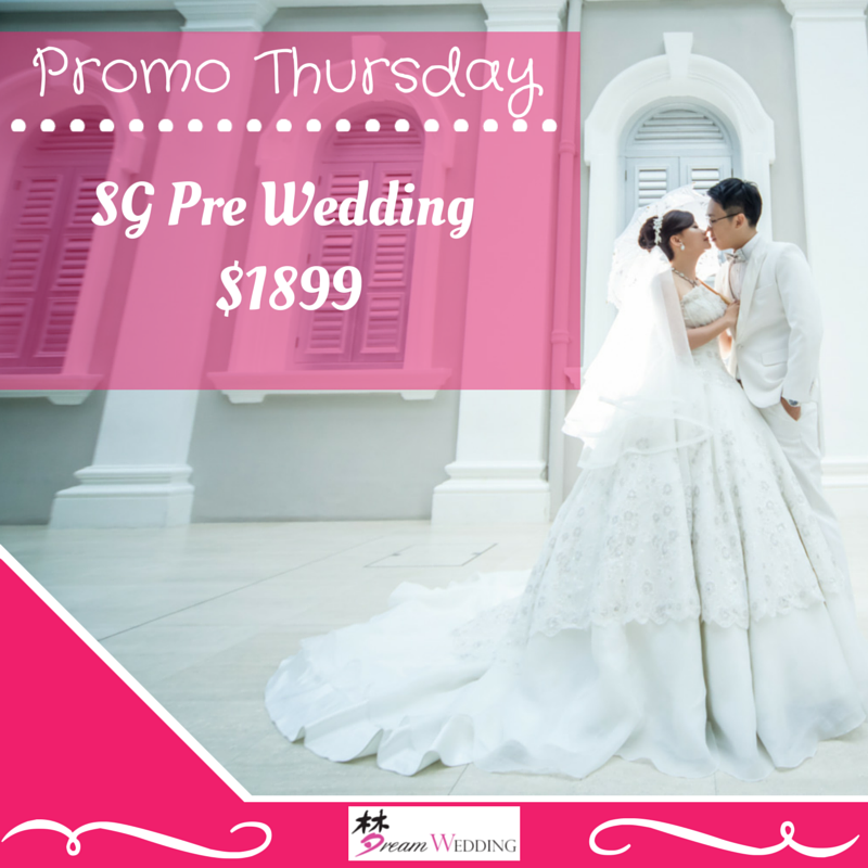 Promotion Thursday! Singapore Pre Wedding Package Services 6 Hours ...