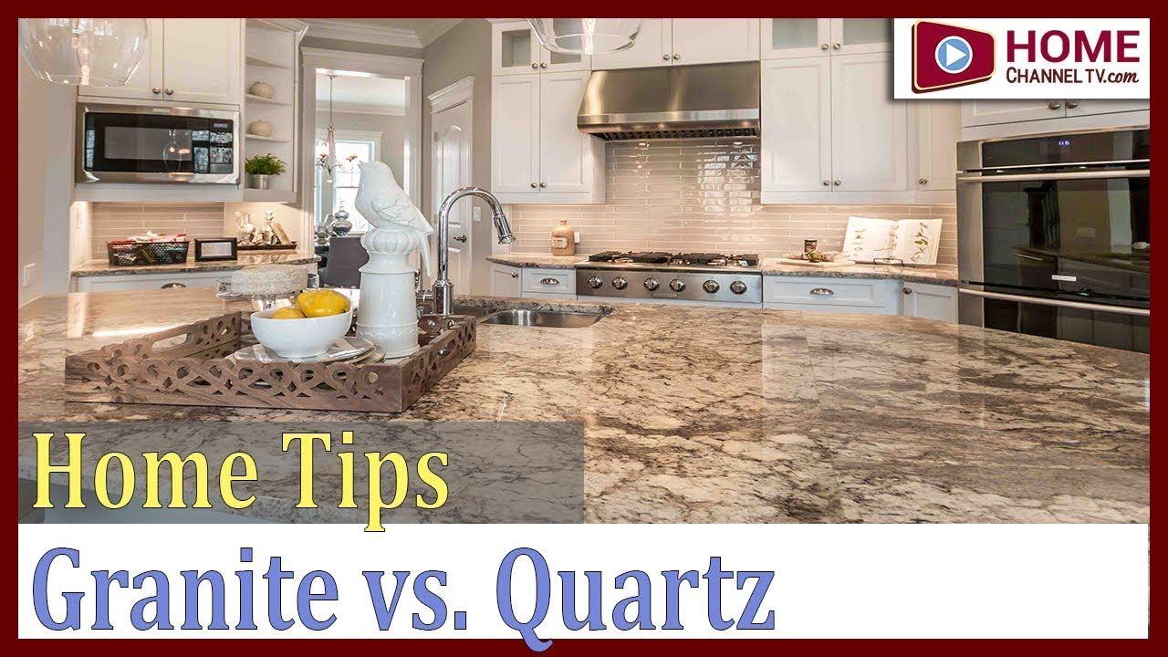 Granite Vs Quartz Countertops Home Channel Tv Home Tips Kitchen Countertops Quartz Vs Granite Countertops Kitchen Countertops Quartz Countertops