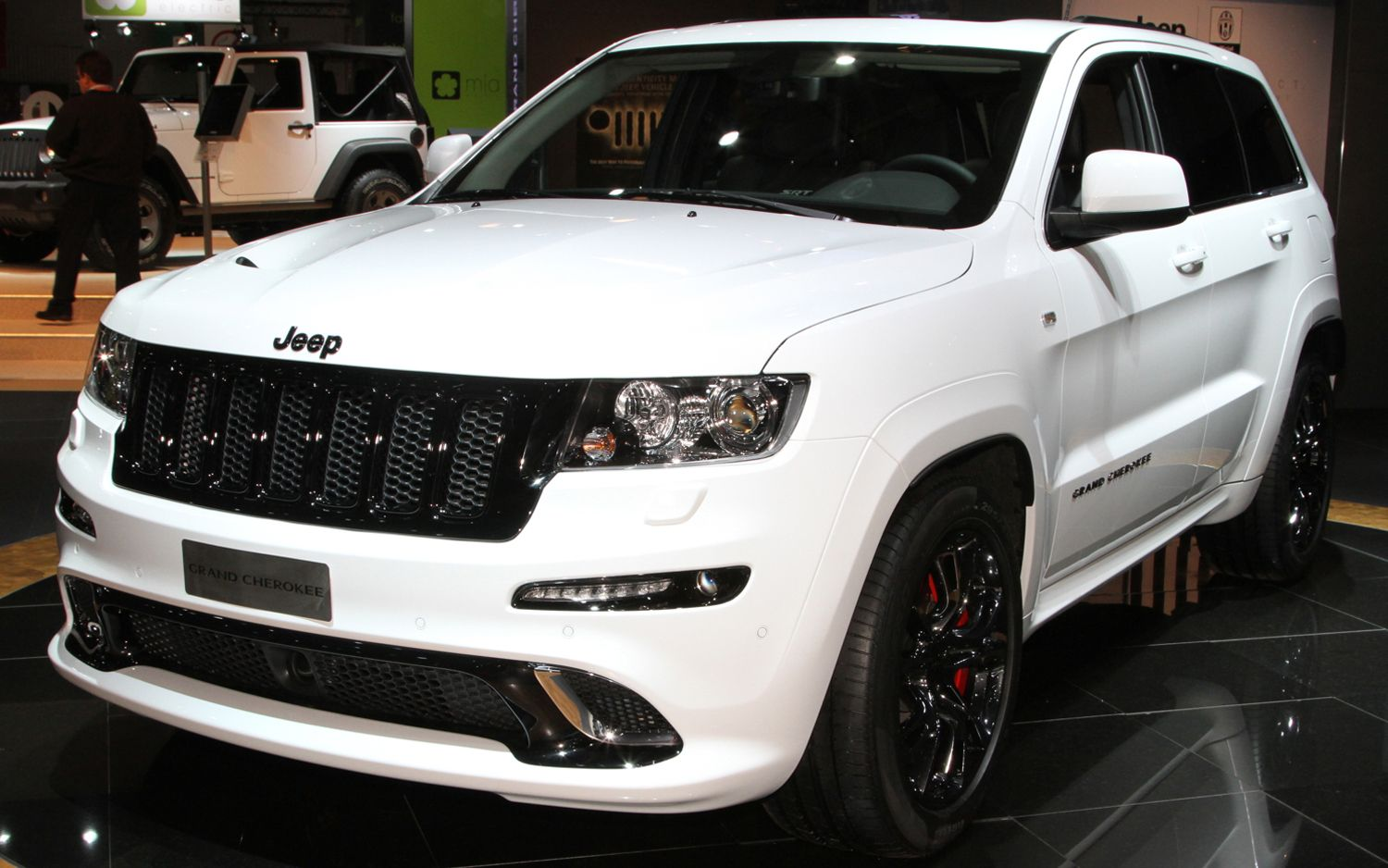 I Want My Jeep To Look Like This Jeep Grand Cherokee Srt White