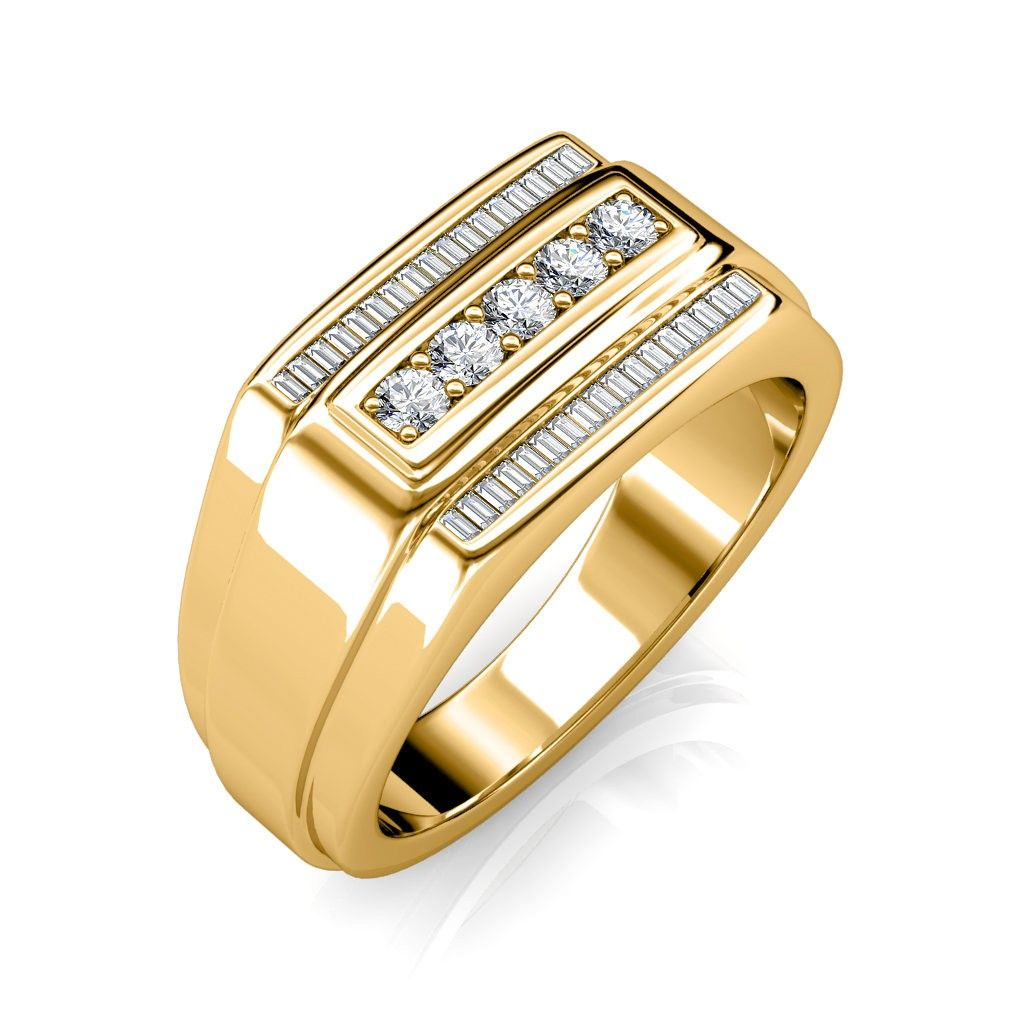 The Theo Ring For Him Diamond Jewellery At Best Prices In India Mens Diamond Wedding Bands Men Diamond Ring Mens Gold Rings