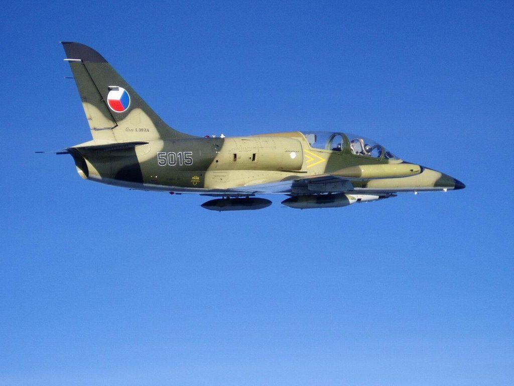 Czech Air Force Aero L-39 Albatros.