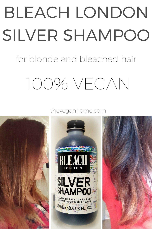 Bleach London Silver Shampoo For Bleached Hair Hair Makeup