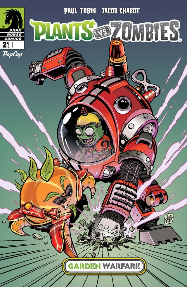 Plants Vs. Zombies: Garden Warfare #2 #DarkHorse #PlantsVsZombies Release  Date: 11/25/2015