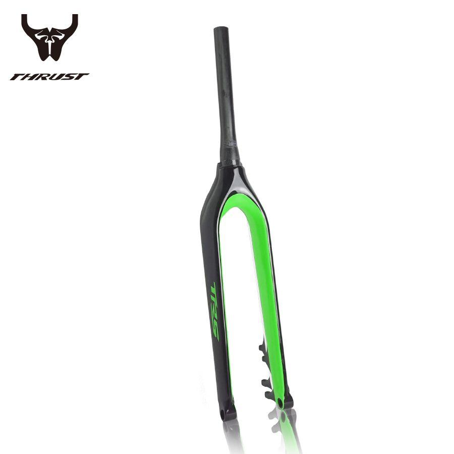 PURARAZA Full Carbon fiber Mountain Bike fork MTB Bike forks Bicycle Fork