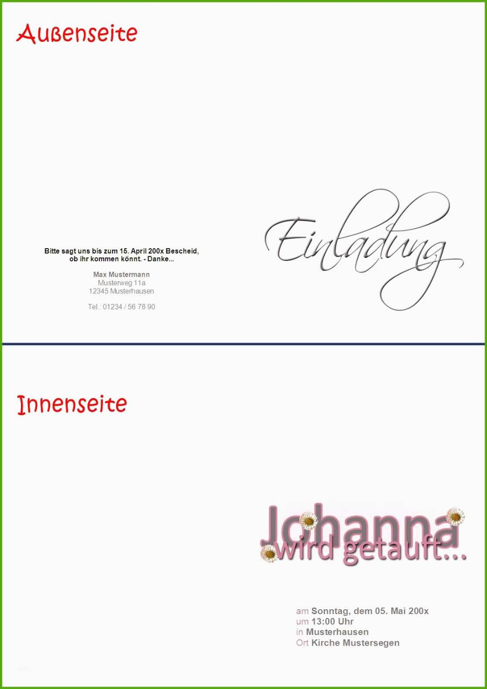 Einladungen Office Com 12