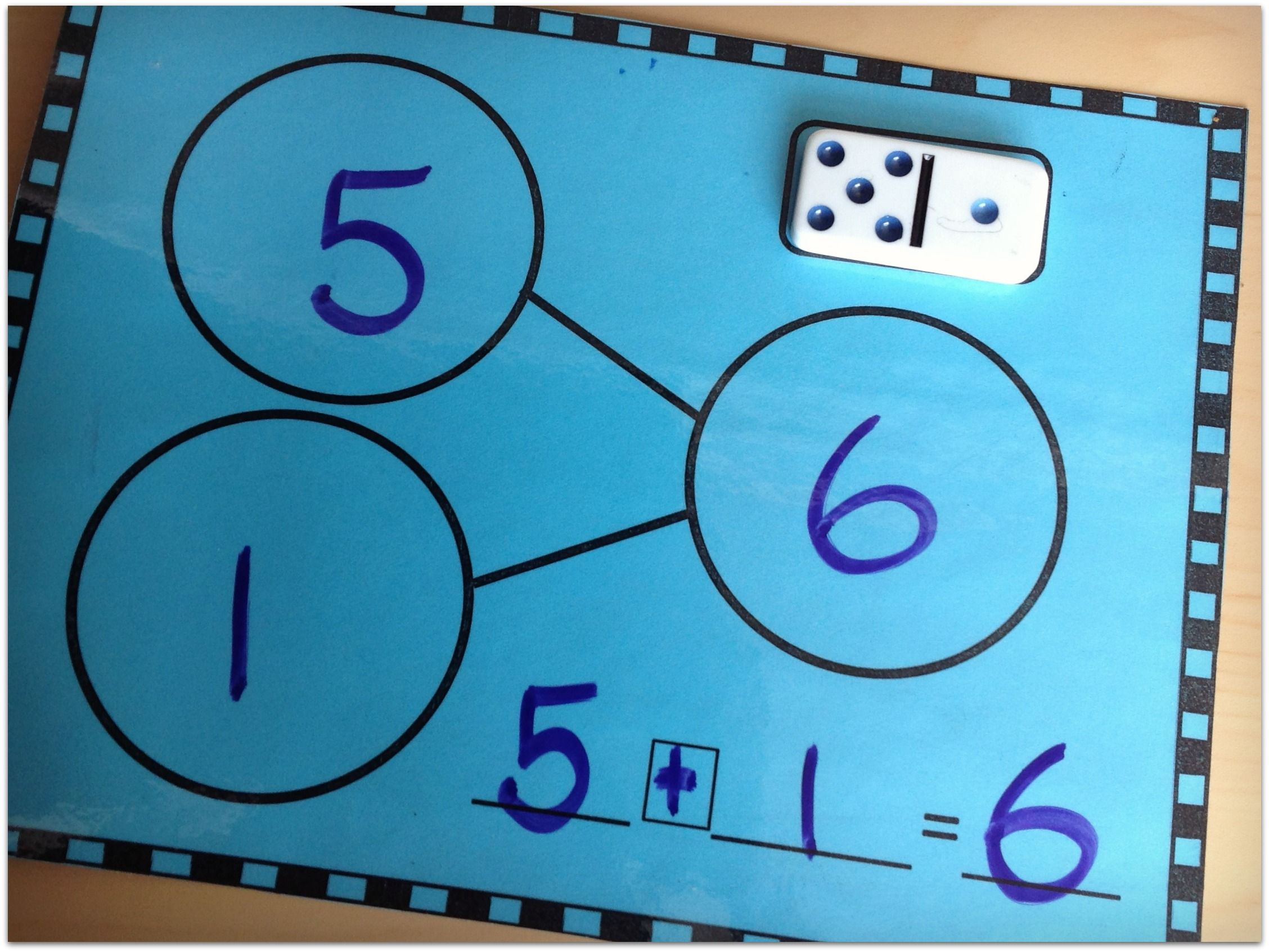 Year Round Domino Math Centers | Number bonds, Math and Number