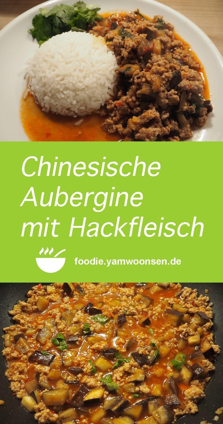 Neueste Rezepte Mit Bild chinesische aubergine mit hackfleisch yu xiang qie zi zhūjiǎoròu