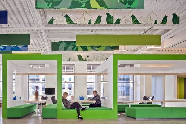 original office space white design