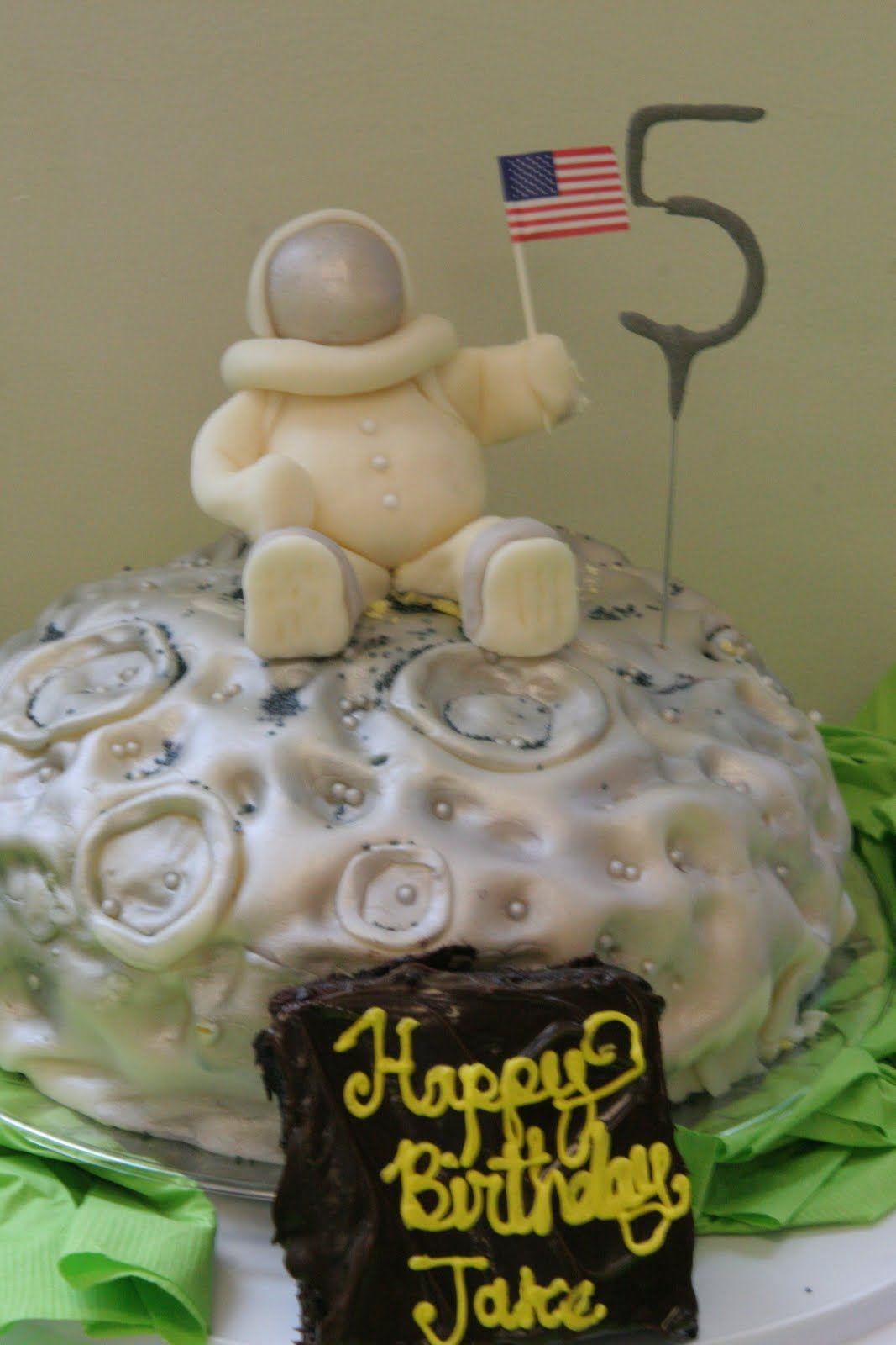 Outer Space Cake Idea