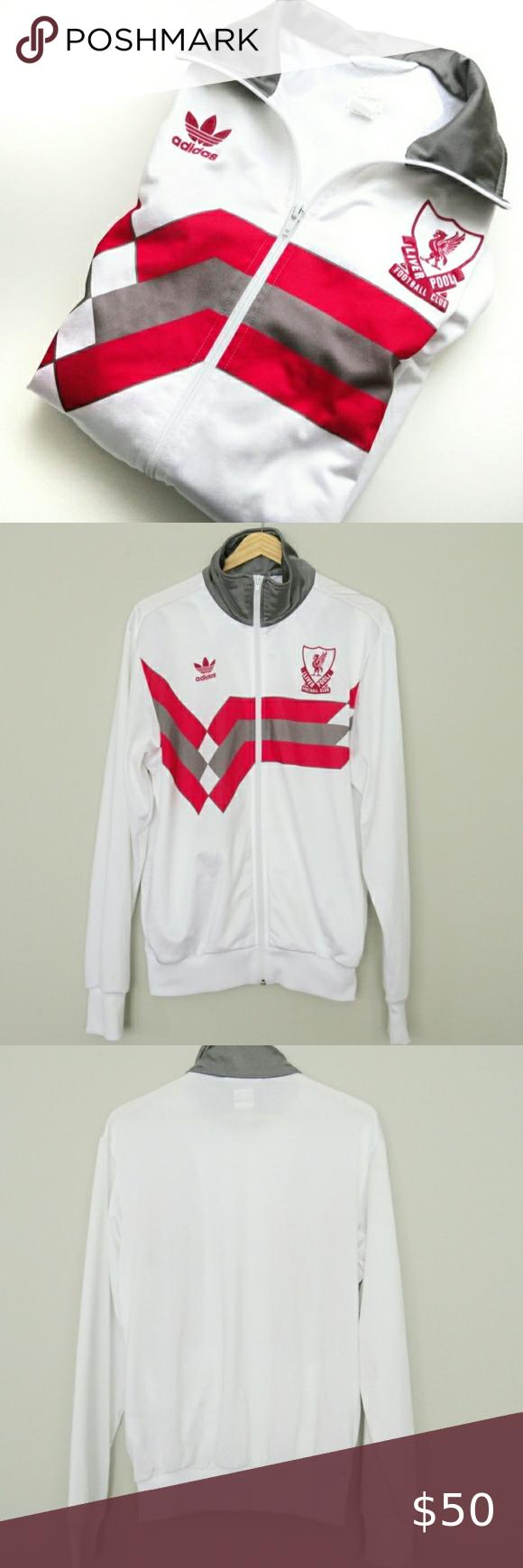 Vintage Liverpool Football Club Track Jacket In 2020 Track Jackets Clothes Design Liverpool Football [ 1740 x 580 Pixel ]
