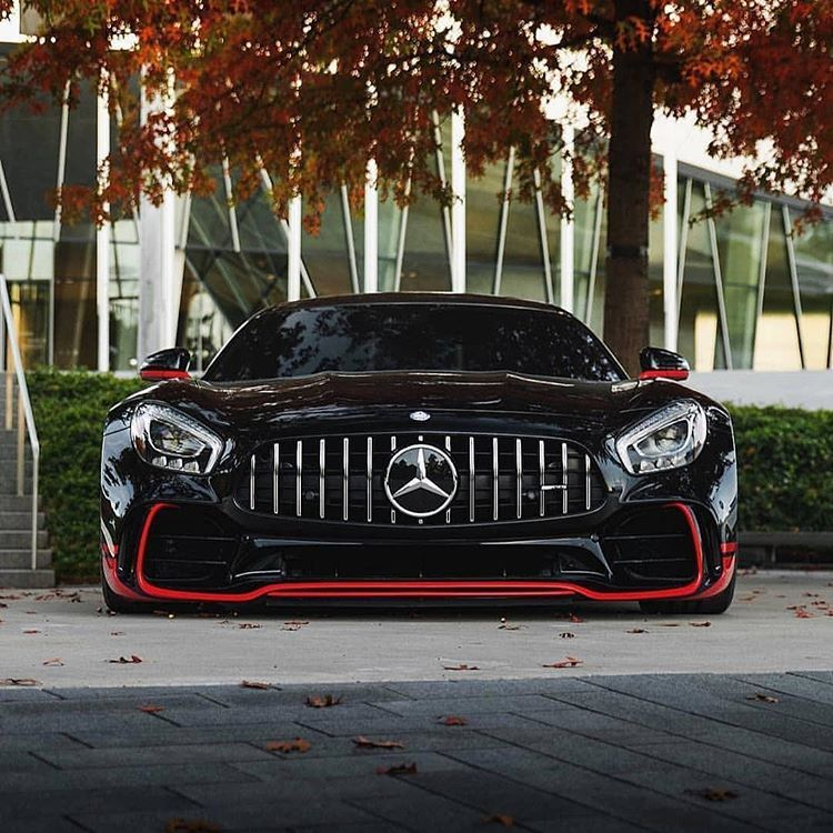 Can T Go Wrong With Red Black Yay Mercedes Benz Amg Gtr