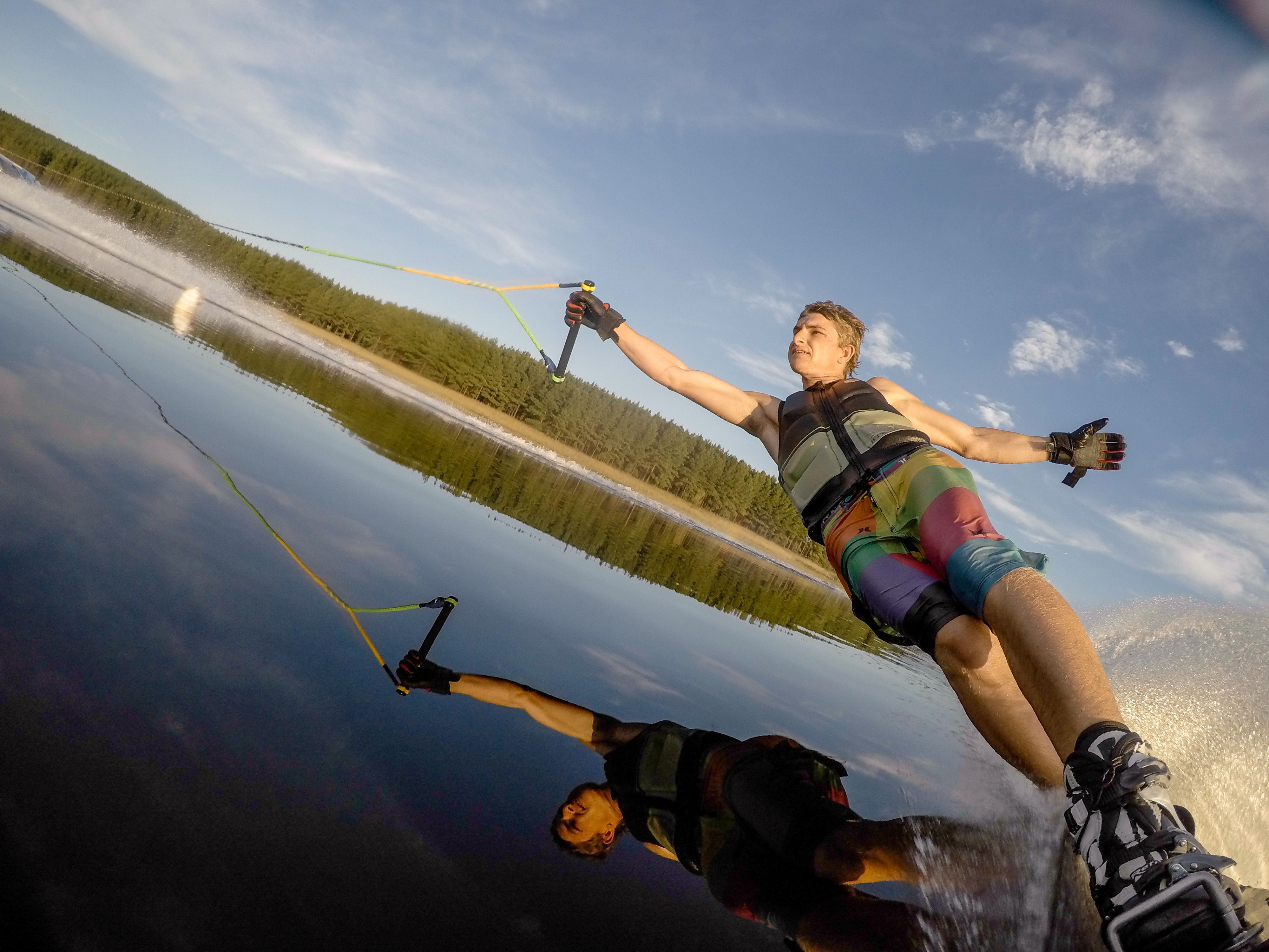Best Lake Life Images On Pinterest Paddle Photos And Skydiving - 33 incredible photos taken gopro
