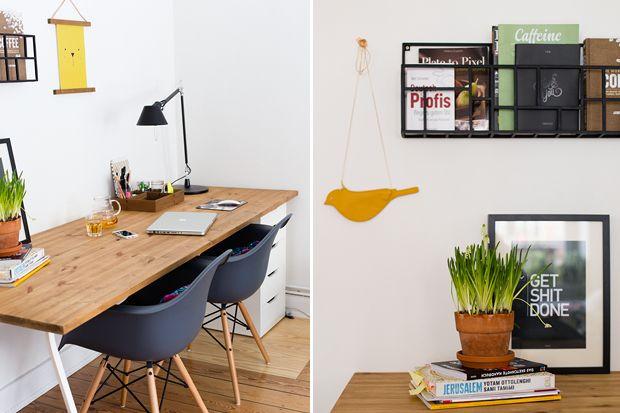 My Workstation. #eames #home #diy #desk #homeoffice #pappsalon #artemide