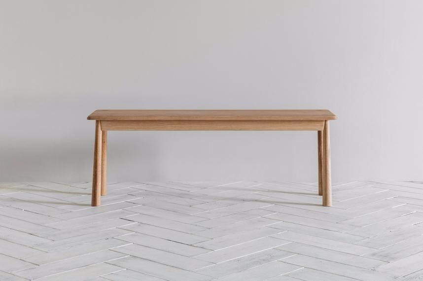 Stupendous A Delicate Scandi Bench With A Mild 60S Flavour Wooden Andrewgaddart Wooden Chair Designs For Living Room Andrewgaddartcom