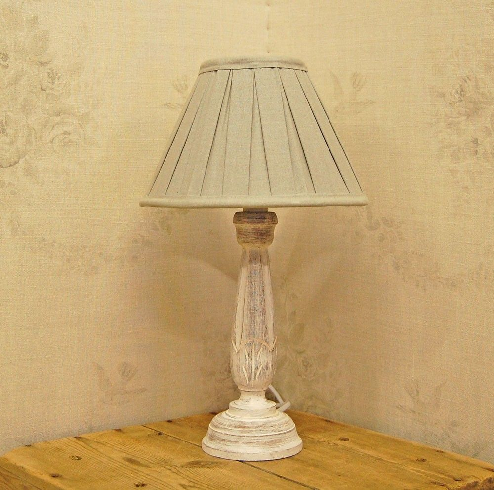 country chic lighting. Bowley \u0026 Jackson French Wooden Shabby Chic Table Lamp Country Lighting