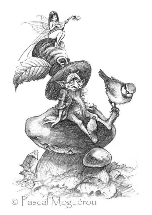 Сказочные иллюстрации Pascal Moguerou (205 работ