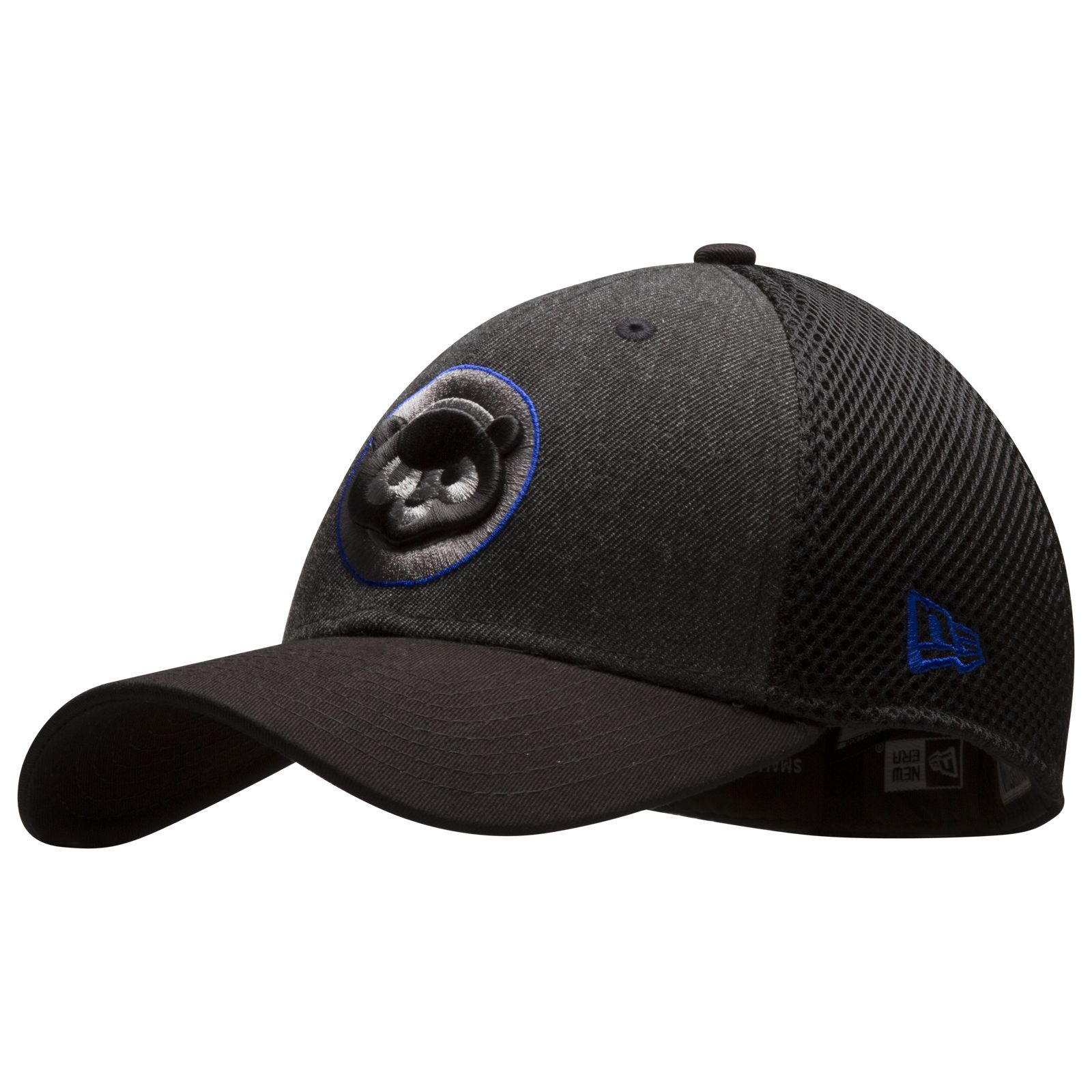 f0dc9cf26596bf Chicago Cubs Graphite and Black 1984 Chubby Bear Logo Flex Fit Hat by New  Era #Chicago #Cubs #ChicagoCubs
