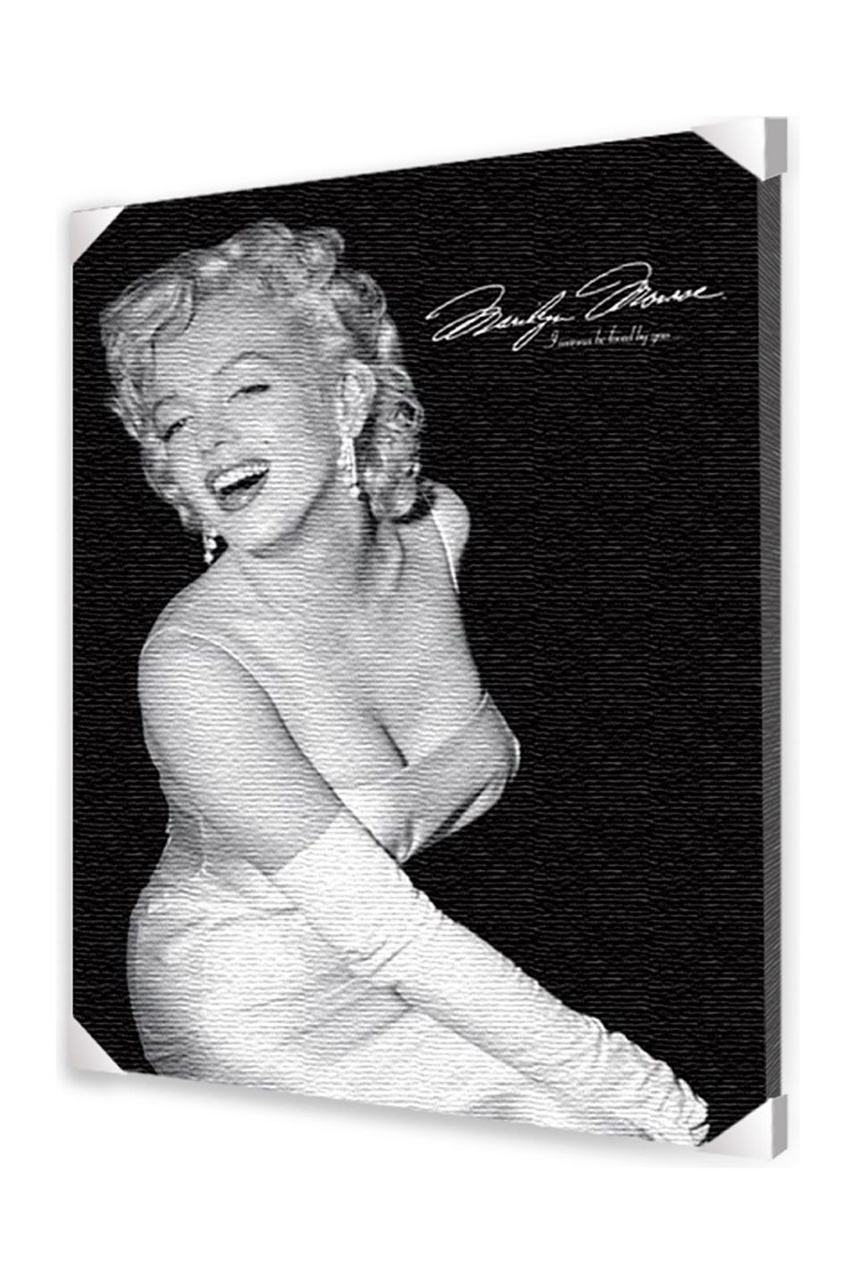 Ace Framing Marilyn Monroe - Loved, Canvas | Crystalicious ...