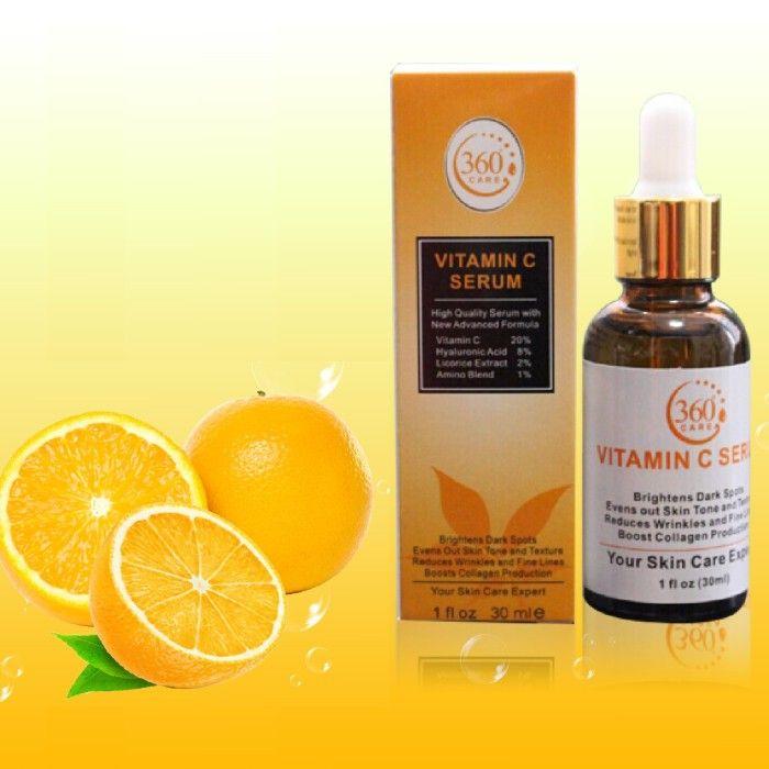 360 Care Vitamin C Face Serum 1 Month Supply Anti Aging Skin Products Vitamin C Face Serum Skin Collagen