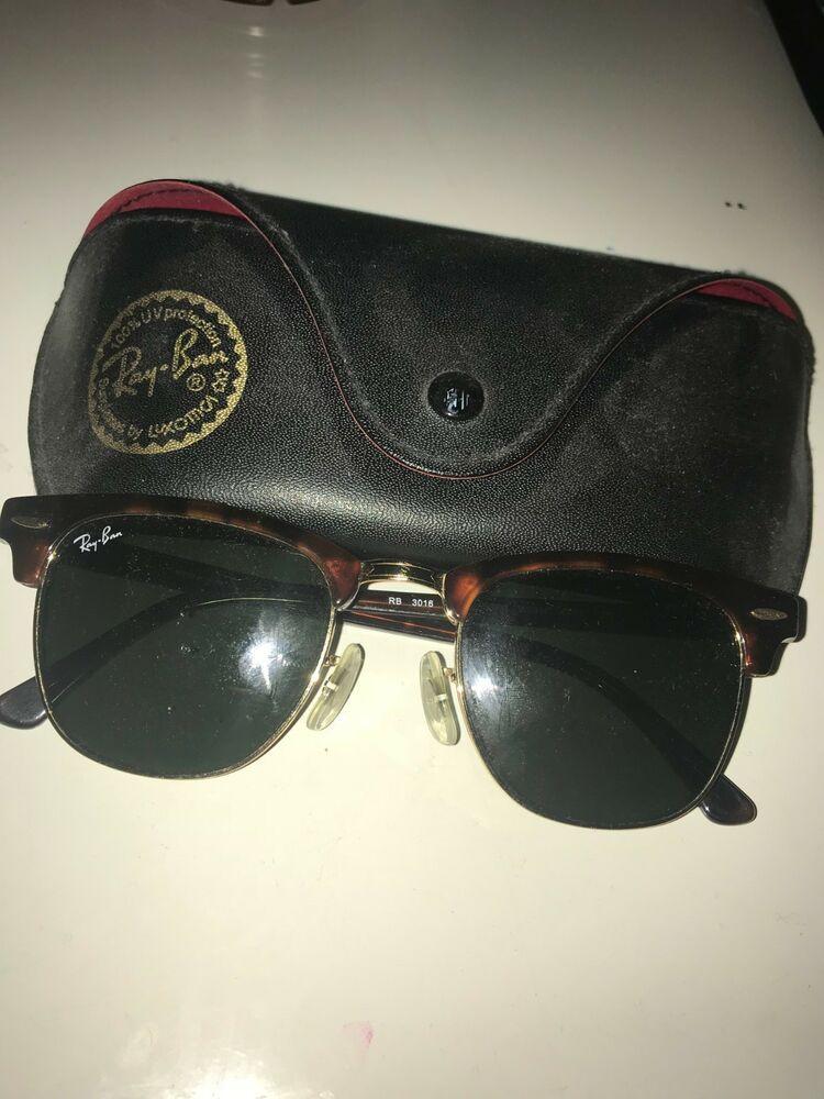 7fea4ea4cb4a7 Ray-Ban Clubmaster RB3016-990 58 Havana 49mm Polarized Sunglasses  fashion