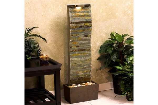 Diy Indoor Water Wall Make Your House Features Stunning With