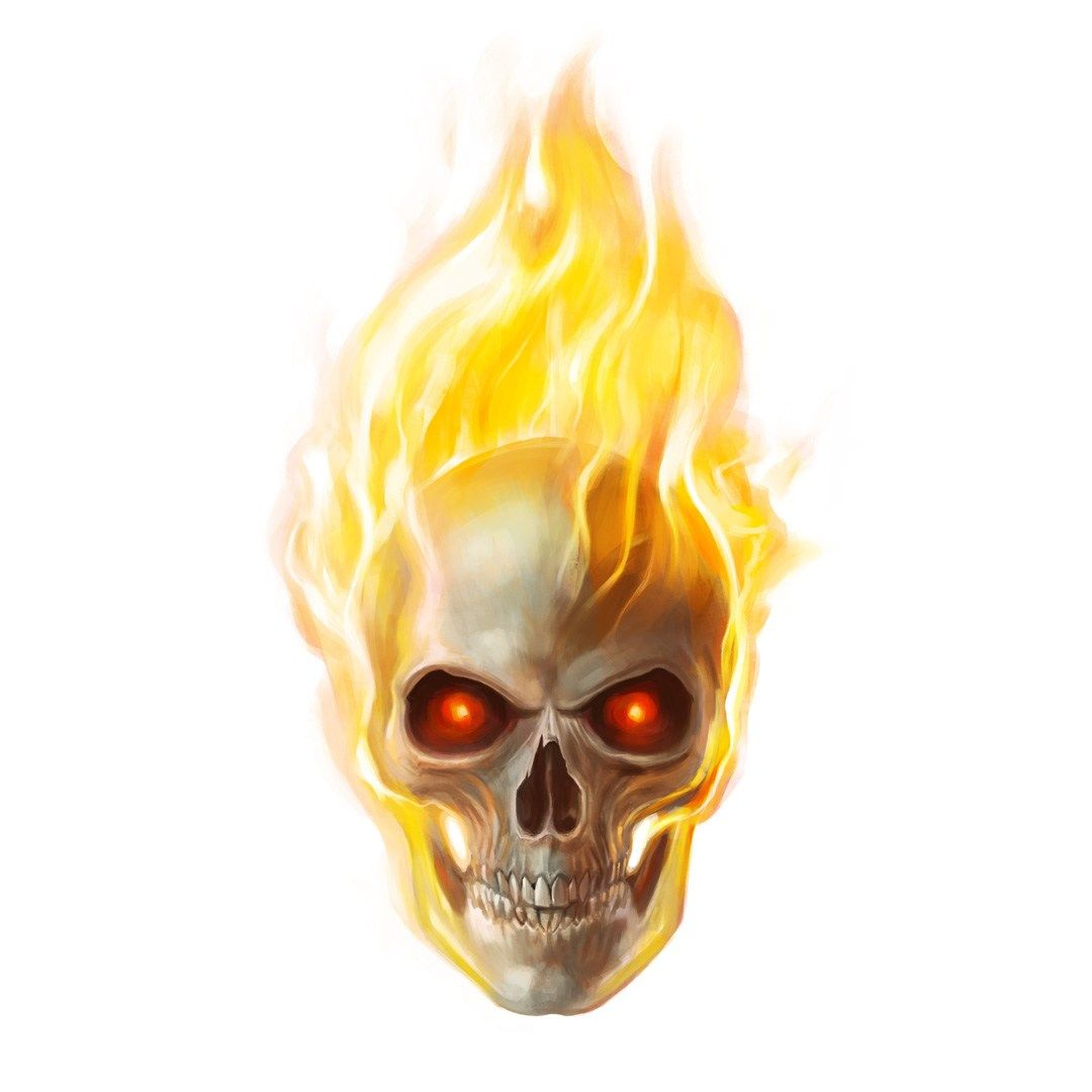 Alberto Russo 300 Faces Ghost Rider Super Heroes Animated Geek