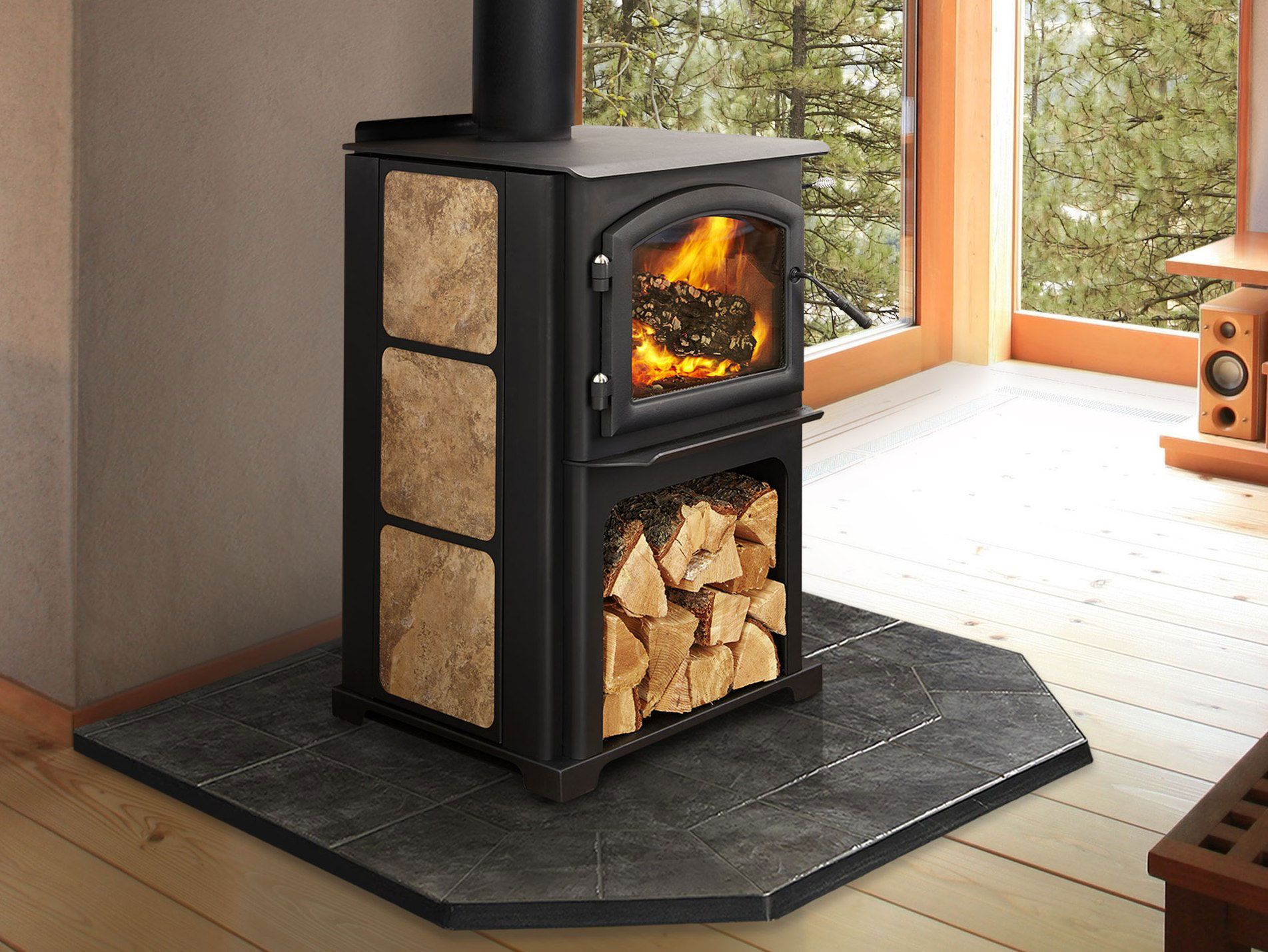 3100 Limited Edition Ashx 1903 1429 Wood Stove Quadra Fire Wood Stove Wood Heat