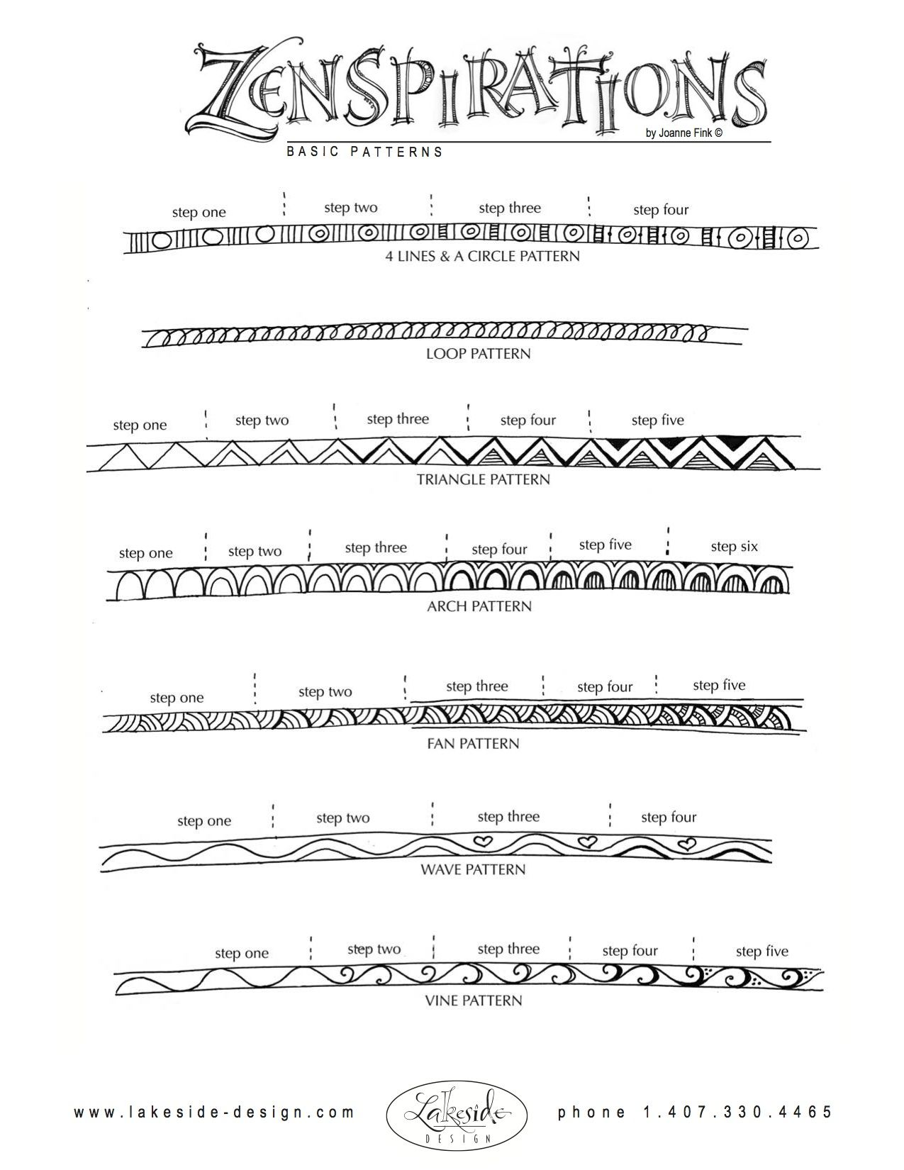 How To Doodle Patterns