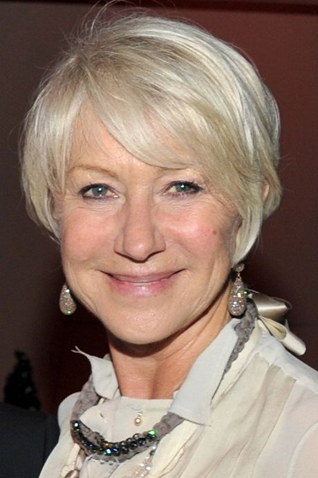 Senior Hairstyles Short Hair Hairstyles For Seniors Older Women