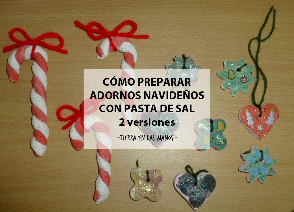 Dos ideas diferentes para preparar adornos de navidad con for Adornos navidenos que pueden hacer los ninos