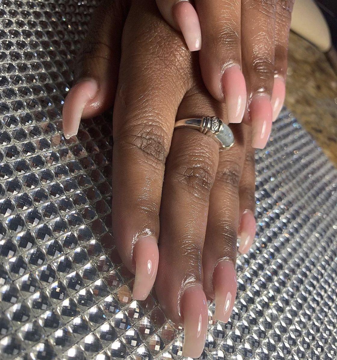 Nails Youngnails Synergygel Gelnails Classynails Naturalnails Squarenails Nailideas Nailsofinstagram Nailedit Brow In 2020 Sugar Nails Square Nails Nail Spa