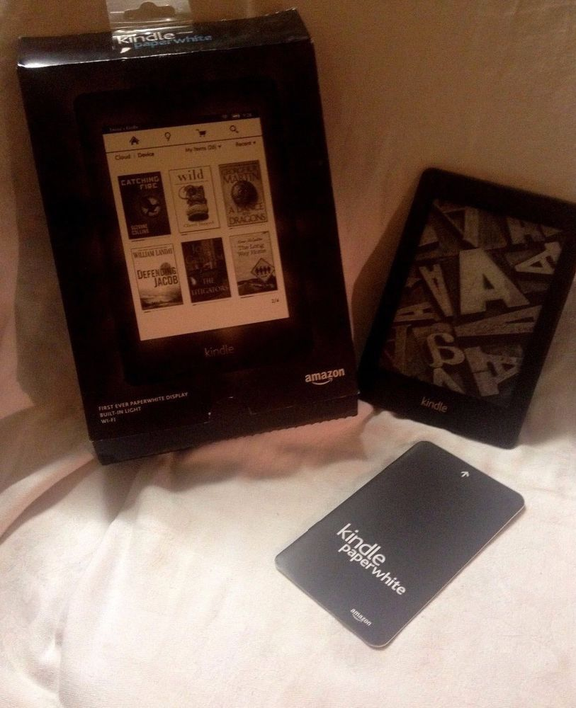 kindle paperwhite - 5th generation - excellent condition