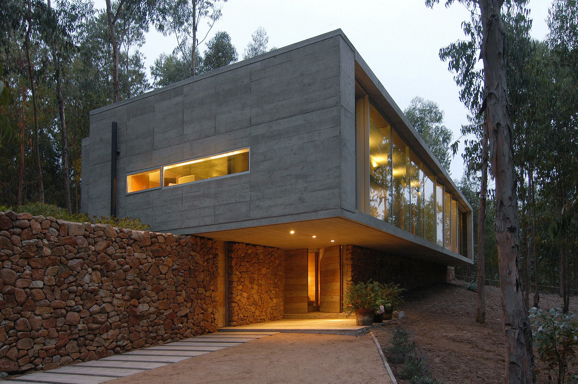 The Omnibus House Is Located In Close Proximity To The