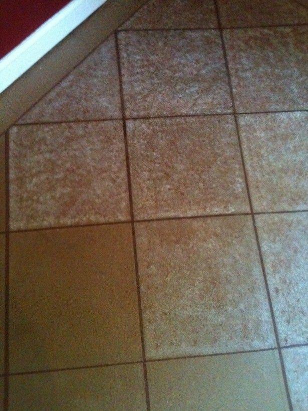 Painting Paper Floor To Look Like Tile Brown Paper Bag