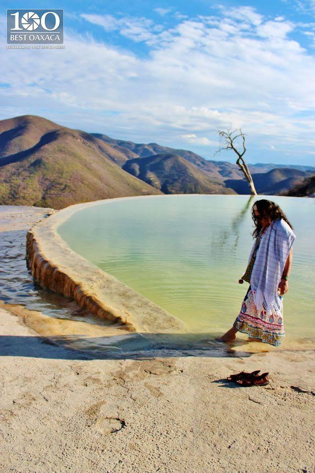 """Fotografía de Beby Santaella """"Semilla de piedra"""" Cascadas Petrificadas de Hierve El Agua Oax. #100BestOaxaca"""