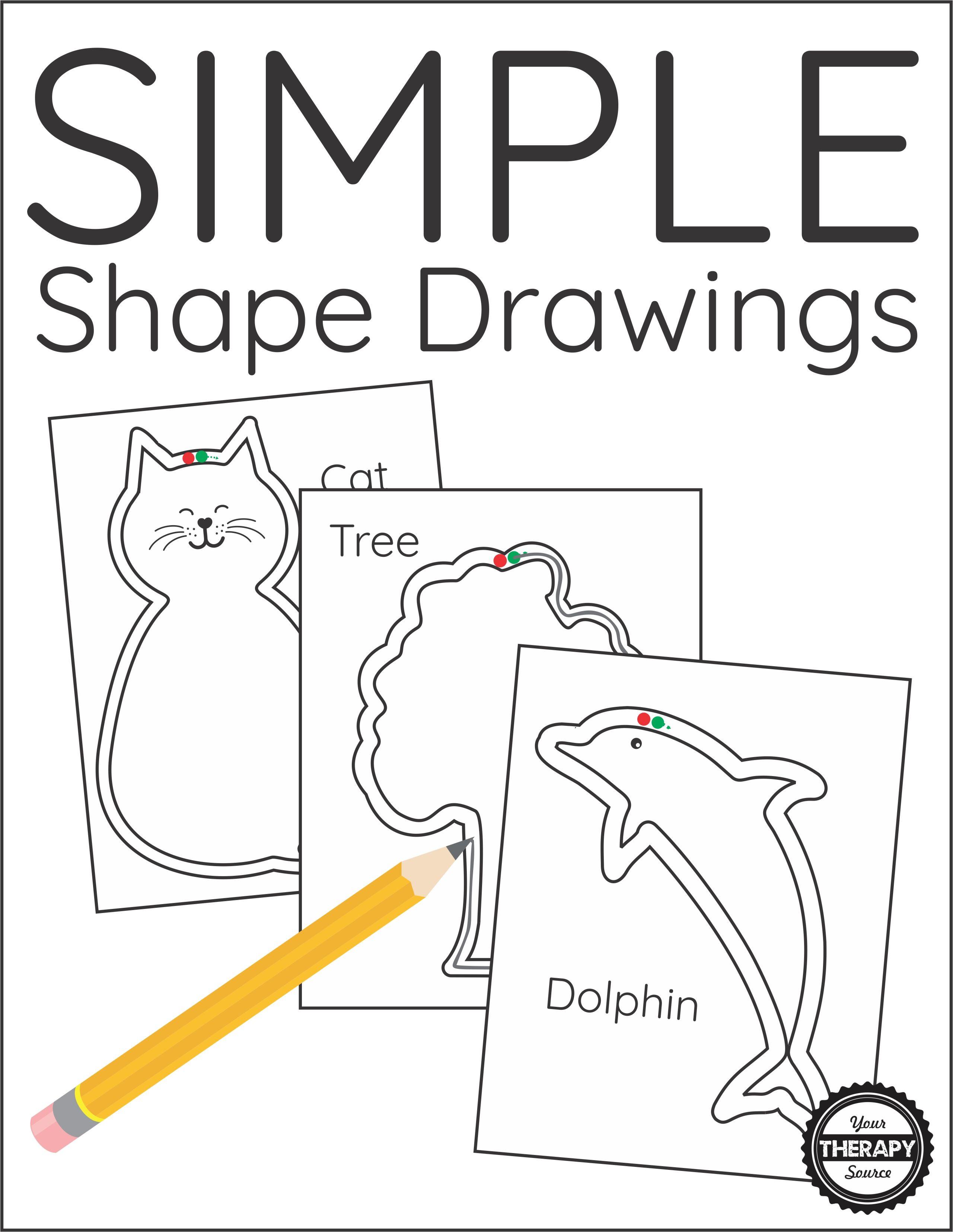 Simple Shape Drawings