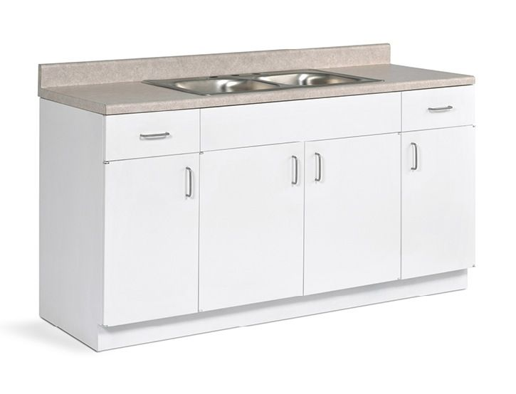 Beautiful Kitchen Base Cabinet Metal Sink Arrive One Wall Designs