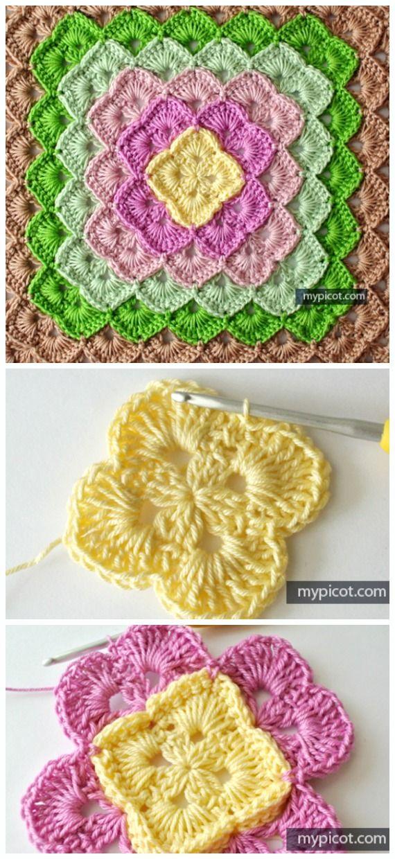 Box Stitch Crochet Free Patterns [Video] #pattern