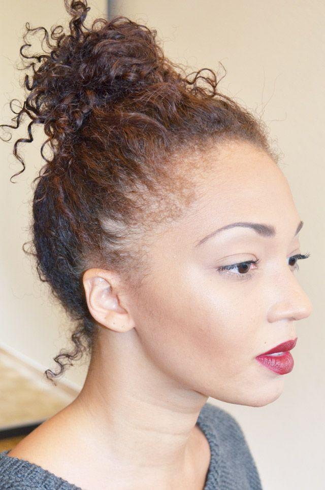 mercredie | blog mode, beauté etc. | Cheveux beauté, Coiffures nappy, Chignon