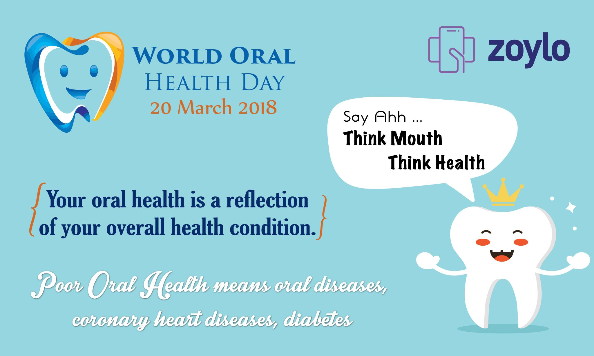 Oral health has been linked with heart health. The