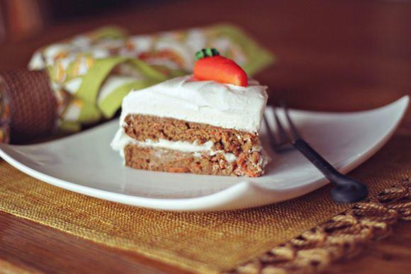 """health conscience"" carrot cake"
