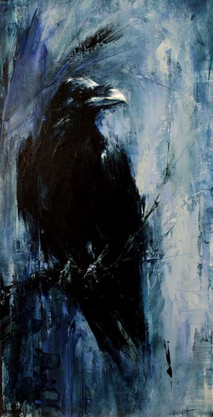 Raven Art On Pinterest The Raven Ravens And Crows