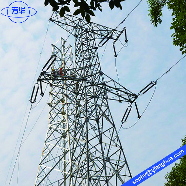110 Kv Electricity Transmission Tower Electricity Tower